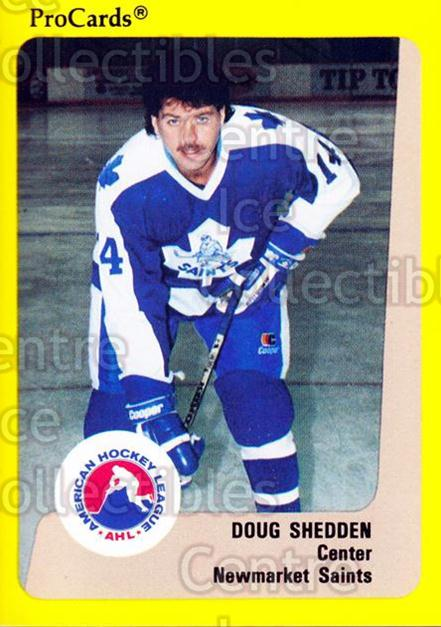 1989-90 ProCards AHL #125 Doug Shedden<br/>1 In Stock - $2.00 each - <a href=https://centericecollectibles.foxycart.com/cart?name=1989-90%20ProCards%20AHL%20%23125%20Doug%20Shedden...&quantity_max=1&price=$2.00&code=20086 class=foxycart> Buy it now! </a>
