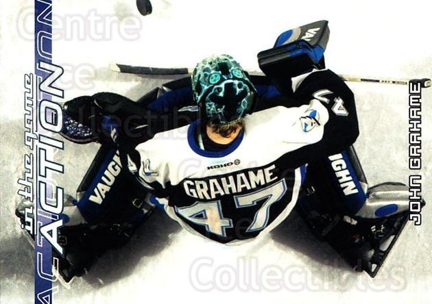 2003-04 ITG Action #586 John Grahame<br/>5 In Stock - $1.00 each - <a href=https://centericecollectibles.foxycart.com/cart?name=2003-04%20ITG%20Action%20%23586%20John%20Grahame...&quantity_max=5&price=$1.00&code=200872 class=foxycart> Buy it now! </a>