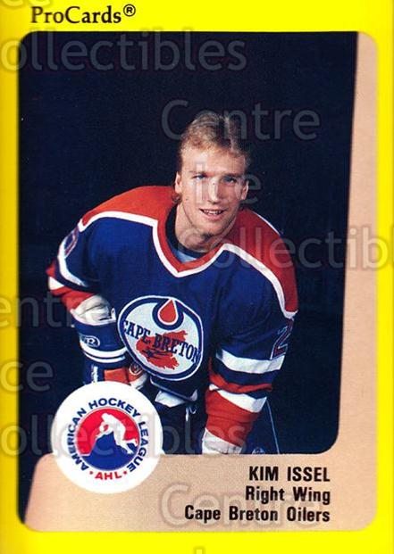1989-90 ProCards AHL #145 Kim Issel<br/>10 In Stock - $2.00 each - <a href=https://centericecollectibles.foxycart.com/cart?name=1989-90%20ProCards%20AHL%20%23145%20Kim%20Issel...&quantity_max=10&price=$2.00&code=20106 class=foxycart> Buy it now! </a>