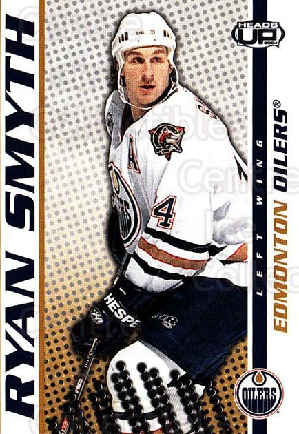 2003-04 Heads-Up #42 Ryan Smyth<br/>6 In Stock - $1.00 each - <a href=https://centericecollectibles.foxycart.com/cart?name=2003-04%20Heads-Up%20%2342%20Ryan%20Smyth...&quantity_max=6&price=$1.00&code=201266 class=foxycart> Buy it now! </a>