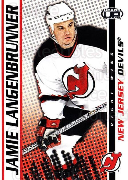 2003-04 Heads-Up #60 Jamie Langenbrunner<br/>6 In Stock - $1.00 each - <a href=https://centericecollectibles.foxycart.com/cart?name=2003-04%20Heads-Up%20%2360%20Jamie%20Langenbru...&quantity_max=6&price=$1.00&code=201277 class=foxycart> Buy it now! </a>