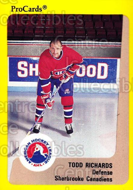 1989-90 ProCards AHL #183 Todd Richards<br/>2 In Stock - $2.00 each - <a href=https://centericecollectibles.foxycart.com/cart?name=1989-90%20ProCards%20AHL%20%23183%20Todd%20Richards...&price=$2.00&code=20146 class=foxycart> Buy it now! </a>
