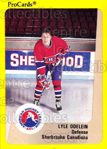 1989-90 ProCards AHL #185 Lyle Odelein<br/>6 In Stock - $2.00 each - <a href=https://centericecollectibles.foxycart.com/cart?name=1989-90%20ProCards%20AHL%20%23185%20Lyle%20Odelein...&price=$2.00&code=20148 class=foxycart> Buy it now! </a>