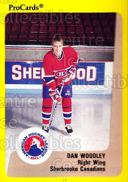 1989-90 ProCards AHL #190 Dan Woodley<br/>1 In Stock - $2.00 each - <a href=https://centericecollectibles.foxycart.com/cart?name=1989-90%20ProCards%20AHL%20%23190%20Dan%20Woodley...&price=$2.00&code=20154 class=foxycart> Buy it now! </a>