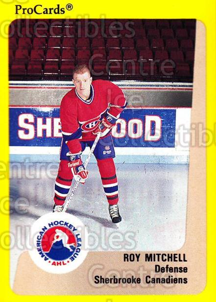 1989-90 ProCards AHL #192 Roy Mitchell<br/>7 In Stock - $2.00 each - <a href=https://centericecollectibles.foxycart.com/cart?name=1989-90%20ProCards%20AHL%20%23192%20Roy%20Mitchell...&price=$2.00&code=20156 class=foxycart> Buy it now! </a>