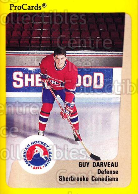 1989-90 ProCards AHL #193 Guy Darveau<br/>7 In Stock - $2.00 each - <a href=https://centericecollectibles.foxycart.com/cart?name=1989-90%20ProCards%20AHL%20%23193%20Guy%20Darveau...&price=$2.00&code=20157 class=foxycart> Buy it now! </a>