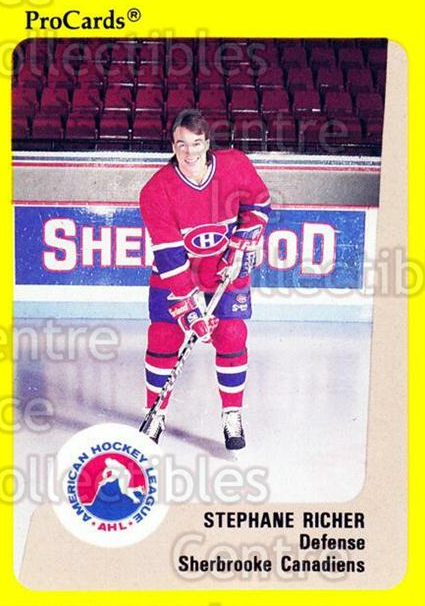 1989-90 ProCards AHL #195 Stephane Richer<br/>1 In Stock - $2.00 each - <a href=https://centericecollectibles.foxycart.com/cart?name=1989-90%20ProCards%20AHL%20%23195%20Stephane%20Richer...&price=$2.00&code=20159 class=foxycart> Buy it now! </a>
