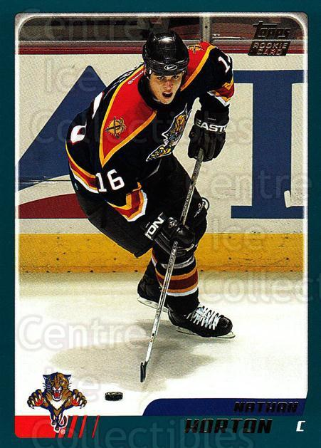 2003-04 Topps #335 Nathan Horton<br/>7 In Stock - $2.00 each - <a href=https://centericecollectibles.foxycart.com/cart?name=2003-04%20Topps%20%23335%20Nathan%20Horton...&quantity_max=7&price=$2.00&code=201648 class=foxycart> Buy it now! </a>