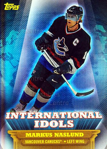 2003-04 Topps / O-pee-chee International Idols #17 Markus Naslund<br/>1 In Stock - $2.00 each - <a href=https://centericecollectibles.foxycart.com/cart?name=2003-04%20Topps%20/%20O-pee-chee%20International%20Idols%20%2317%20Markus%20Naslund...&quantity_max=1&price=$2.00&code=201747 class=foxycart> Buy it now! </a>