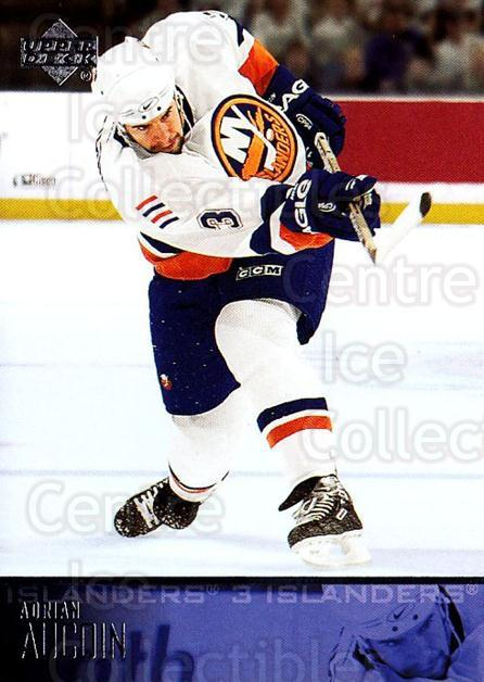 2003-04 Upper Deck #121 Adrian Aucoin<br/>6 In Stock - $1.00 each - <a href=https://centericecollectibles.foxycart.com/cart?name=2003-04%20Upper%20Deck%20%23121%20Adrian%20Aucoin...&quantity_max=6&price=$1.00&code=201776 class=foxycart> Buy it now! </a>