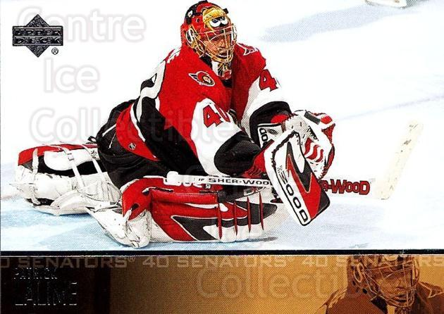 2003-04 Upper Deck #137 Patrick Lalime<br/>6 In Stock - $1.00 each - <a href=https://centericecollectibles.foxycart.com/cart?name=2003-04%20Upper%20Deck%20%23137%20Patrick%20Lalime...&quantity_max=6&price=$1.00&code=201793 class=foxycart> Buy it now! </a>