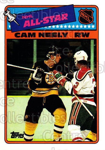 1988-89 Topps Stickers Insert #9 Cam Neely<br/>4 In Stock - $1.00 each - <a href=https://centericecollectibles.foxycart.com/cart?name=1988-89%20Topps%20Stickers%20Insert%20%239%20Cam%20Neely...&price=$1.00&code=201 class=foxycart> Buy it now! </a>