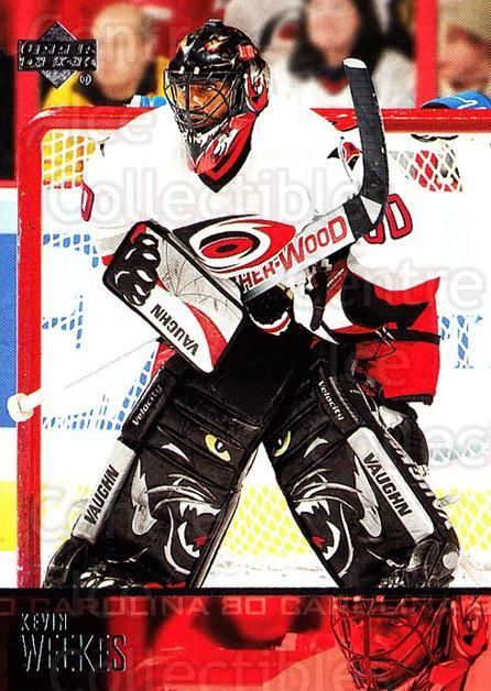 2003-04 Upper Deck #39 Kevin Weekes<br/>3 In Stock - $1.00 each - <a href=https://centericecollectibles.foxycart.com/cart?name=2003-04%20Upper%20Deck%20%2339%20Kevin%20Weekes...&quantity_max=3&price=$1.00&code=202027 class=foxycart> Buy it now! </a>