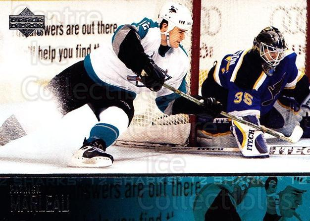2003-04 Upper Deck #404 Patrick Marleau<br/>6 In Stock - $1.00 each - <a href=https://centericecollectibles.foxycart.com/cart?name=2003-04%20Upper%20Deck%20%23404%20Patrick%20Marleau...&quantity_max=6&price=$1.00&code=202044 class=foxycart> Buy it now! </a>