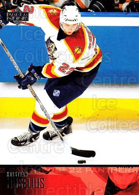2003-04 Upper Deck #82 Kristian Huselius<br/>6 In Stock - $1.00 each - <a href=https://centericecollectibles.foxycart.com/cart?name=2003-04%20Upper%20Deck%20%2382%20Kristian%20Huseli...&quantity_max=6&price=$1.00&code=202140 class=foxycart> Buy it now! </a>