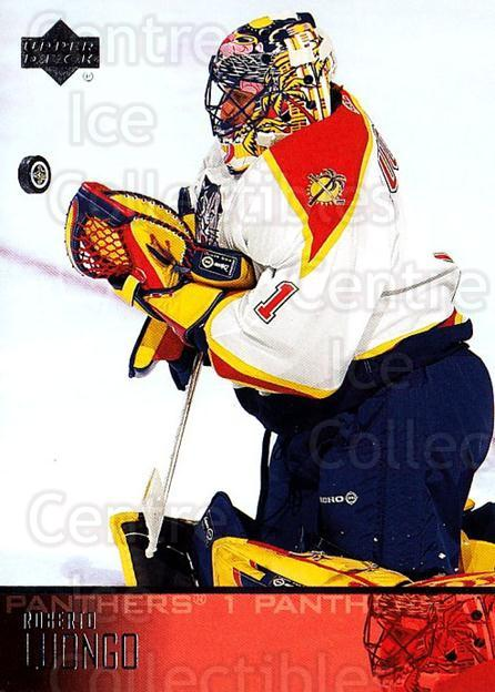 2003-04 Upper Deck #85 Roberto Luongo<br/>6 In Stock - $1.00 each - <a href=https://centericecollectibles.foxycart.com/cart?name=2003-04%20Upper%20Deck%20%2385%20Roberto%20Luongo...&quantity_max=6&price=$1.00&code=202143 class=foxycart> Buy it now! </a>