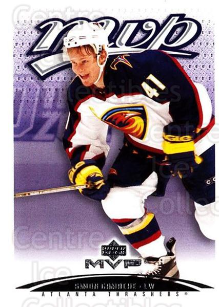 2003-04 Upper Deck MVP #27 Simon Gamache<br/>1 In Stock - $1.00 each - <a href=https://centericecollectibles.foxycart.com/cart?name=2003-04%20Upper%20Deck%20MVP%20%2327%20Simon%20Gamache...&quantity_max=1&price=$1.00&code=202170 class=foxycart> Buy it now! </a>