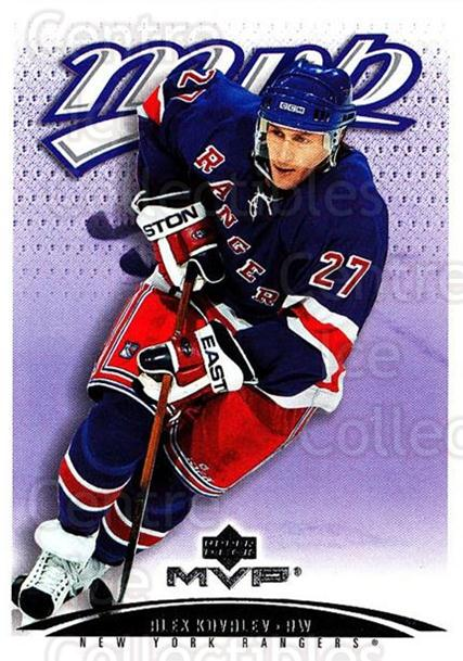 2003-04 Upper Deck MVP #276 Alexei Kovalev<br/>3 In Stock - $1.00 each - <a href=https://centericecollectibles.foxycart.com/cart?name=2003-04%20Upper%20Deck%20MVP%20%23276%20Alexei%20Kovalev...&quantity_max=3&price=$1.00&code=202177 class=foxycart> Buy it now! </a>