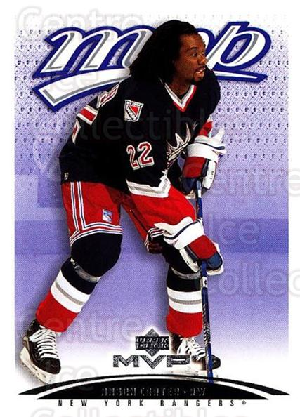 2003-04 Upper Deck MVP #277 Anson Carter<br/>4 In Stock - $1.00 each - <a href=https://centericecollectibles.foxycart.com/cart?name=2003-04%20Upper%20Deck%20MVP%20%23277%20Anson%20Carter...&quantity_max=4&price=$1.00&code=202178 class=foxycart> Buy it now! </a>