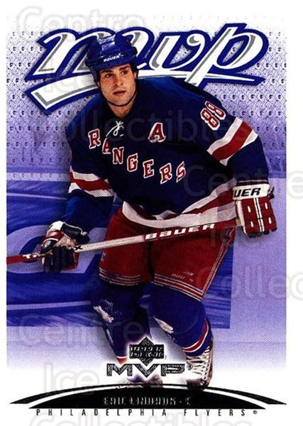 2003-04 Upper Deck MVP #279 Eric Lindros<br/>1 In Stock - $1.00 each - <a href=https://centericecollectibles.foxycart.com/cart?name=2003-04%20Upper%20Deck%20MVP%20%23279%20Eric%20Lindros...&quantity_max=1&price=$1.00&code=202180 class=foxycart> Buy it now! </a>