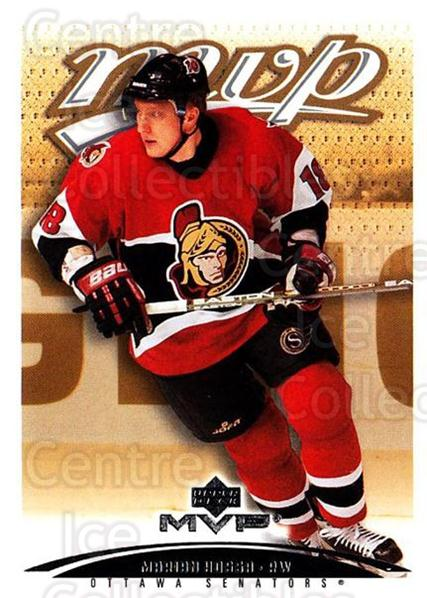 2003-04 Upper Deck MVP #288 Marian Hossa<br/>4 In Stock - $1.00 each - <a href=https://centericecollectibles.foxycart.com/cart?name=2003-04%20Upper%20Deck%20MVP%20%23288%20Marian%20Hossa...&quantity_max=4&price=$1.00&code=202190 class=foxycart> Buy it now! </a>