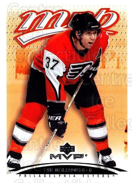2003-04 Upper Deck MVP #311 Eric Desjardins<br/>3 In Stock - $1.00 each - <a href=https://centericecollectibles.foxycart.com/cart?name=2003-04%20Upper%20Deck%20MVP%20%23311%20Eric%20Desjardins...&quantity_max=3&price=$1.00&code=202217 class=foxycart> Buy it now! </a>
