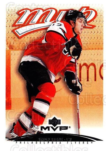 2003-04 Upper Deck MVP #314 Simon Gagne<br/>4 In Stock - $1.00 each - <a href=https://centericecollectibles.foxycart.com/cart?name=2003-04%20Upper%20Deck%20MVP%20%23314%20Simon%20Gagne...&quantity_max=4&price=$1.00&code=202220 class=foxycart> Buy it now! </a>