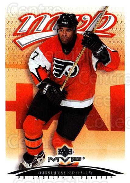 2003-04 Upper Deck MVP #315 Donald Brashear<br/>4 In Stock - $1.00 each - <a href=https://centericecollectibles.foxycart.com/cart?name=2003-04%20Upper%20Deck%20MVP%20%23315%20Donald%20Brashear...&quantity_max=4&price=$1.00&code=202221 class=foxycart> Buy it now! </a>