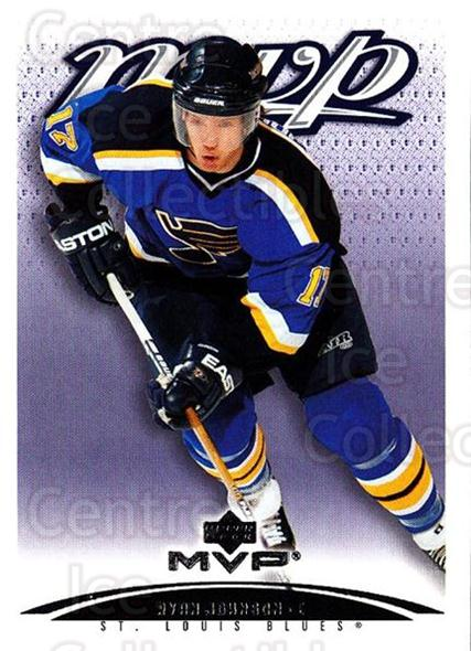 2003-04 Upper Deck MVP #370 Ryan Johnson<br/>1 In Stock - $1.00 each - <a href=https://centericecollectibles.foxycart.com/cart?name=2003-04%20Upper%20Deck%20MVP%20%23370%20Ryan%20Johnson...&quantity_max=1&price=$1.00&code=202278 class=foxycart> Buy it now! </a>