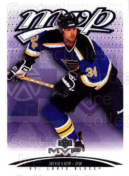 2003-04 Upper Deck MVP #371 Reed Low<br/>2 In Stock - $1.00 each - <a href=https://centericecollectibles.foxycart.com/cart?name=2003-04%20Upper%20Deck%20MVP%20%23371%20Reed%20Low...&quantity_max=2&price=$1.00&code=202279 class=foxycart> Buy it now! </a>