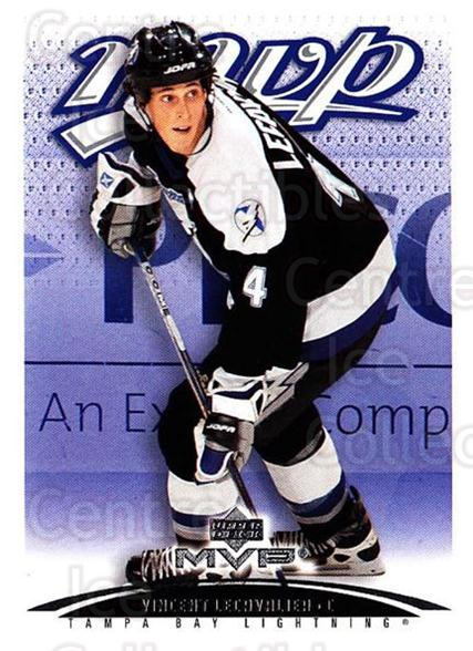 2003-04 Upper Deck MVP #377 Vincent Lecavalier<br/>2 In Stock - $1.00 each - <a href=https://centericecollectibles.foxycart.com/cart?name=2003-04%20Upper%20Deck%20MVP%20%23377%20Vincent%20Lecaval...&quantity_max=2&price=$1.00&code=202285 class=foxycart> Buy it now! </a>