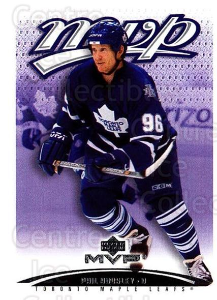 2003-04 Upper Deck MVP #399 Phil Housley<br/>4 In Stock - $1.00 each - <a href=https://centericecollectibles.foxycart.com/cart?name=2003-04%20Upper%20Deck%20MVP%20%23399%20Phil%20Housley...&quantity_max=4&price=$1.00&code=202309 class=foxycart> Buy it now! </a>