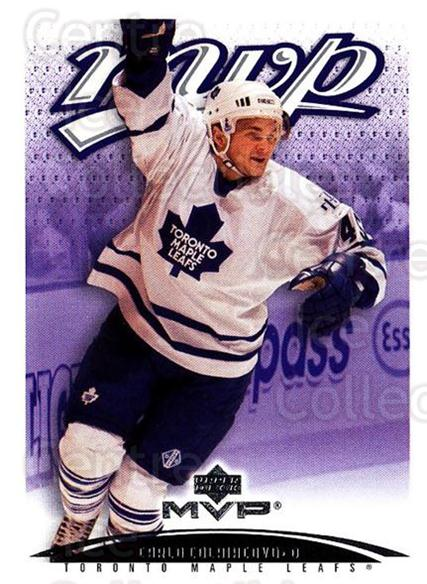2003-04 Upper Deck MVP #403 Carlo Colaiacovo<br/>3 In Stock - $1.00 each - <a href=https://centericecollectibles.foxycart.com/cart?name=2003-04%20Upper%20Deck%20MVP%20%23403%20Carlo%20Colaiacov...&quantity_max=3&price=$1.00&code=202314 class=foxycart> Buy it now! </a>