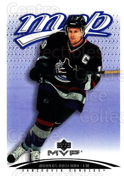 2003-04 Upper Deck MVP #408 Markus Naslund<br/>3 In Stock - $1.00 each - <a href=https://centericecollectibles.foxycart.com/cart?name=2003-04%20Upper%20Deck%20MVP%20%23408%20Markus%20Naslund...&quantity_max=3&price=$1.00&code=202318 class=foxycart> Buy it now! </a>