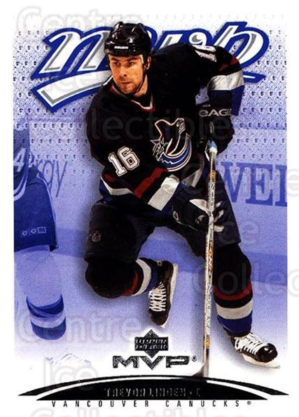 2003-04 Upper Deck MVP #413 Trevor Linden<br/>2 In Stock - $1.00 each - <a href=https://centericecollectibles.foxycart.com/cart?name=2003-04%20Upper%20Deck%20MVP%20%23413%20Trevor%20Linden...&quantity_max=2&price=$1.00&code=202324 class=foxycart> Buy it now! </a>
