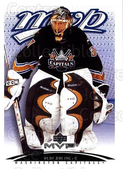 2003-04 Upper Deck MVP #435 Olaf Kolzig<br/>3 In Stock - $1.00 each - <a href=https://centericecollectibles.foxycart.com/cart?name=2003-04%20Upper%20Deck%20MVP%20%23435%20Olaf%20Kolzig...&quantity_max=3&price=$1.00&code=202348 class=foxycart> Buy it now! </a>