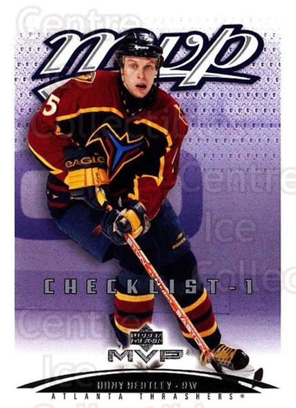 2003-04 Upper Deck MVP #439 Dany Heatley, Checklist<br/>2 In Stock - $1.00 each - <a href=https://centericecollectibles.foxycart.com/cart?name=2003-04%20Upper%20Deck%20MVP%20%23439%20Dany%20Heatley,%20C...&quantity_max=2&price=$1.00&code=202351 class=foxycart> Buy it now! </a>