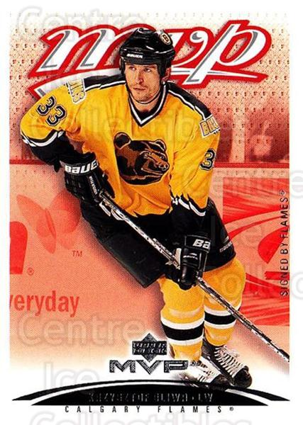 2003-04 Upper Deck MVP #49 Krzysztof Oliwa<br/>4 In Stock - $1.00 each - <a href=https://centericecollectibles.foxycart.com/cart?name=2003-04%20Upper%20Deck%20MVP%20%2349%20Krzysztof%20Oliwa...&quantity_max=4&price=$1.00&code=202377 class=foxycart> Buy it now! </a>
