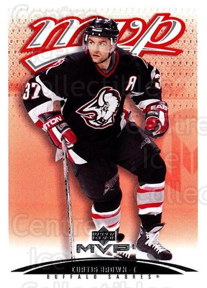 2003-04 Upper Deck MVP #55 Curtis Brown<br/>4 In Stock - $1.00 each - <a href=https://centericecollectibles.foxycart.com/cart?name=2003-04%20Upper%20Deck%20MVP%20%2355%20Curtis%20Brown...&quantity_max=4&price=$1.00&code=202384 class=foxycart> Buy it now! </a>