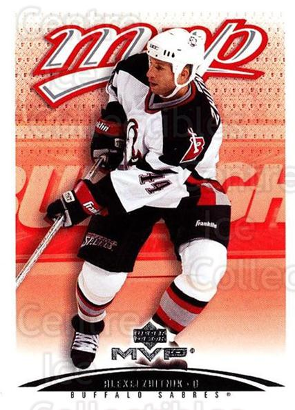 2003-04 Upper Deck MVP #59 Alexei Zhitnik<br/>3 In Stock - $1.00 each - <a href=https://centericecollectibles.foxycart.com/cart?name=2003-04%20Upper%20Deck%20MVP%20%2359%20Alexei%20Zhitnik...&quantity_max=3&price=$1.00&code=202388 class=foxycart> Buy it now! </a>