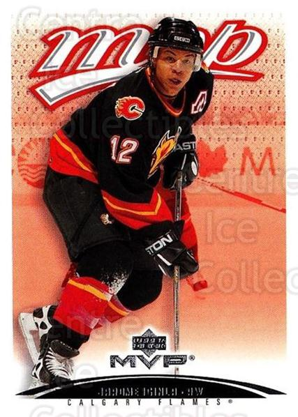 2003-04 Upper Deck MVP #65 Jarome Iginla<br/>4 In Stock - $1.00 each - <a href=https://centericecollectibles.foxycart.com/cart?name=2003-04%20Upper%20Deck%20MVP%20%2365%20Jarome%20Iginla...&quantity_max=4&price=$1.00&code=202394 class=foxycart> Buy it now! </a>