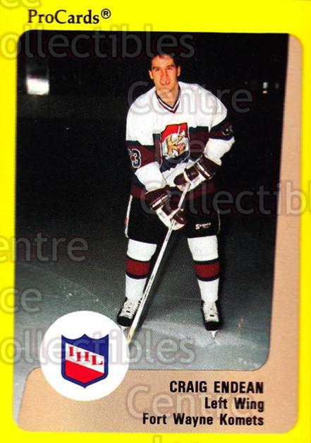 1989-90 ProCards IHL #131 Craig Endean<br/>10 In Stock - $2.00 each - <a href=https://centericecollectibles.foxycart.com/cart?name=1989-90%20ProCards%20IHL%20%23131%20Craig%20Endean...&quantity_max=10&price=$2.00&code=20240 class=foxycart> Buy it now! </a>