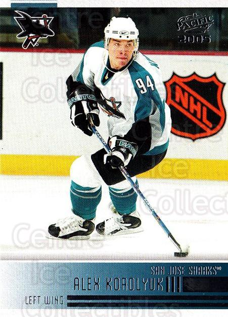 2004-05 Pacific #229 Alexander Korolyuk<br/>3 In Stock - $1.00 each - <a href=https://centericecollectibles.foxycart.com/cart?name=2004-05%20Pacific%20%23229%20Alexander%20Korol...&quantity_max=3&price=$1.00&code=202431 class=foxycart> Buy it now! </a>