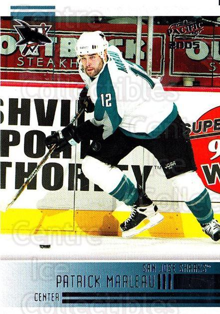 2004-05 Pacific #230 Patrick Marleau<br/>3 In Stock - $1.00 each - <a href=https://centericecollectibles.foxycart.com/cart?name=2004-05%20Pacific%20%23230%20Patrick%20Marleau...&quantity_max=3&price=$1.00&code=202433 class=foxycart> Buy it now! </a>
