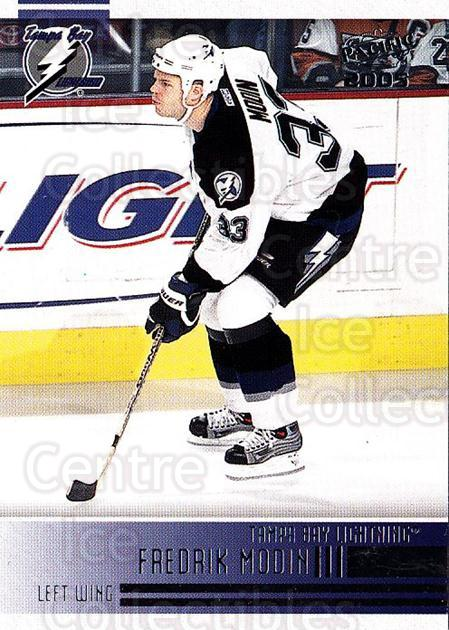 2004-05 Pacific #240 Fredrik Modin<br/>4 In Stock - $1.00 each - <a href=https://centericecollectibles.foxycart.com/cart?name=2004-05%20Pacific%20%23240%20Fredrik%20Modin...&quantity_max=4&price=$1.00&code=202444 class=foxycart> Buy it now! </a>