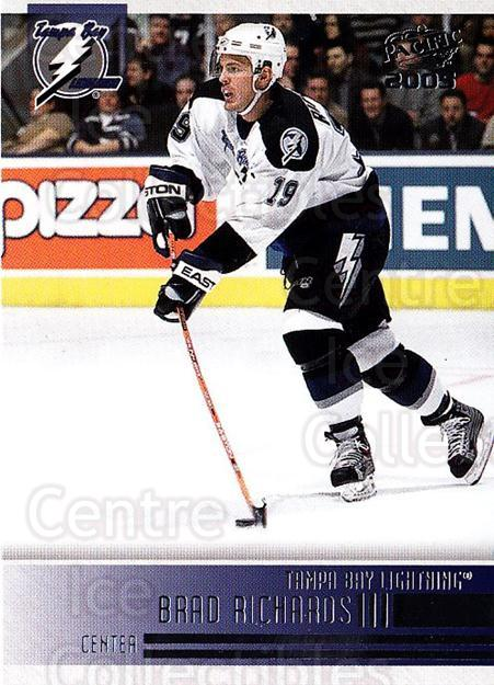 2004-05 Pacific #241 Brad Richards<br/>2 In Stock - $1.00 each - <a href=https://centericecollectibles.foxycart.com/cart?name=2004-05%20Pacific%20%23241%20Brad%20Richards...&quantity_max=2&price=$1.00&code=202445 class=foxycart> Buy it now! </a>