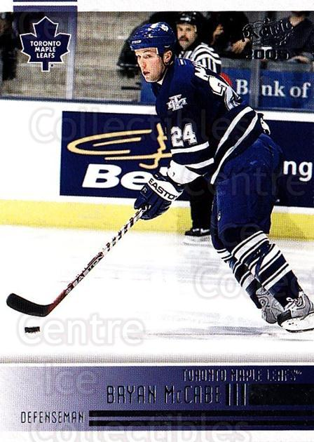 2004-05 Pacific #246 Bryan McCabe<br/>3 In Stock - $1.00 each - <a href=https://centericecollectibles.foxycart.com/cart?name=2004-05%20Pacific%20%23246%20Bryan%20McCabe...&quantity_max=3&price=$1.00&code=202450 class=foxycart> Buy it now! </a>