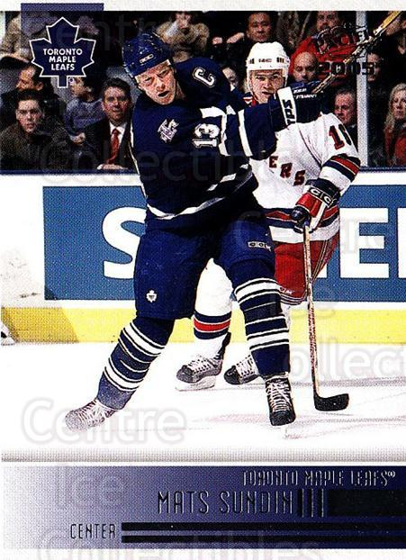 2004-05 Pacific #251 Mats Sundin<br/>2 In Stock - $1.00 each - <a href=https://centericecollectibles.foxycart.com/cart?name=2004-05%20Pacific%20%23251%20Mats%20Sundin...&quantity_max=2&price=$1.00&code=202456 class=foxycart> Buy it now! </a>