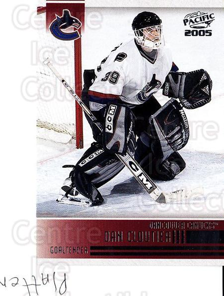 2004-05 Pacific #254 Dan Cloutier<br/>6 In Stock - $1.00 each - <a href=https://centericecollectibles.foxycart.com/cart?name=2004-05%20Pacific%20%23254%20Dan%20Cloutier...&quantity_max=6&price=$1.00&code=202459 class=foxycart> Buy it now! </a>