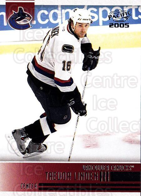 2004-05 Pacific #256 Trevor Linden<br/>4 In Stock - $1.00 each - <a href=https://centericecollectibles.foxycart.com/cart?name=2004-05%20Pacific%20%23256%20Trevor%20Linden...&quantity_max=4&price=$1.00&code=202461 class=foxycart> Buy it now! </a>